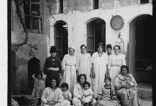 صورة أسرة يهودية في مدينة حلب عام 1912