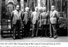 صورة أعضاء من الكتلة الوطنية في باريس 1936
