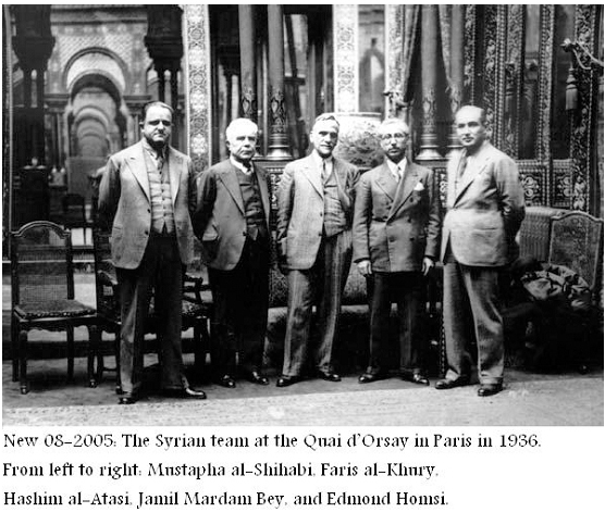 أعضاء من الكتلة الوطنية في باريس 1936