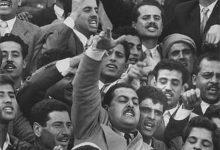 صورة مواطنون في سورية يهتفون للوحدة مع مصر 1958