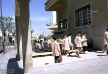 صورة مدرسة دمشقية – الفرير – مقابل السفارة الأميركية ~ 1965
