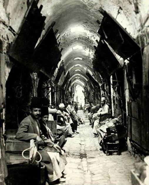 أسواق حلب 1920
