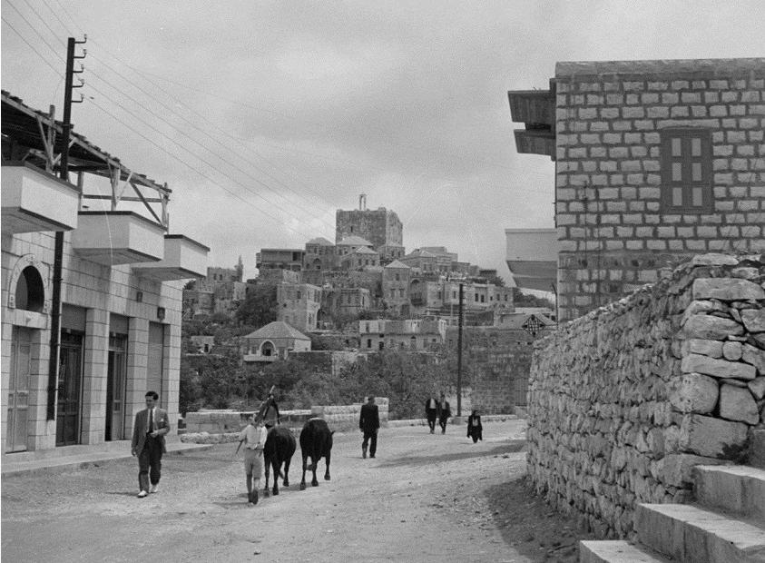 مدينة صافيتا عام 1950