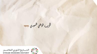 الحزب الوطني السوري 1919