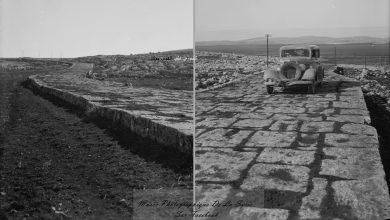 صورة الطريق الروماني القديم – حلب -ادلب – انطاكية