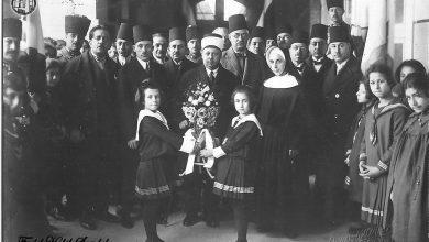 الشيخ تاج الدين الحسني في حلب 1935