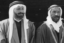 صورة سلطان الأطرش و عقلة القطامي في وادي السرحان