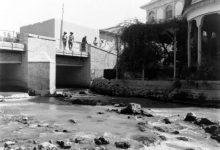 صورة جسر على بردى في دمر استخدم كمستشفى للقوات الاسترالية في العام 1918