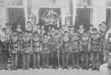 صورة طلبة كلية الفنون الجميلة في دمشق 1909