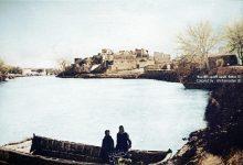 صورة دير الزور – نهر الفرات في فصل الشتاء