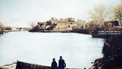 دير الزور - نهر الفرات في فصل الشتاء