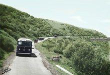 صورة طريق بانياس مسعدة مروراً بجباتا الزيت في القطاع الشمالي للجولان