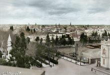 صورة شارع النصر الذي يمتد بين محطة الحجاز وسوق الحميدية