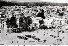 صورة محلة المرجة وأسواقها عام 1912