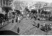 صورة منظر عام لساحة سوق الخيل