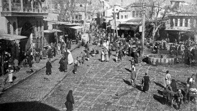 منظر عام لساحة سوق الخيل