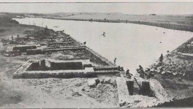صورة رأس العين (منبع الخابور) عام 1929م