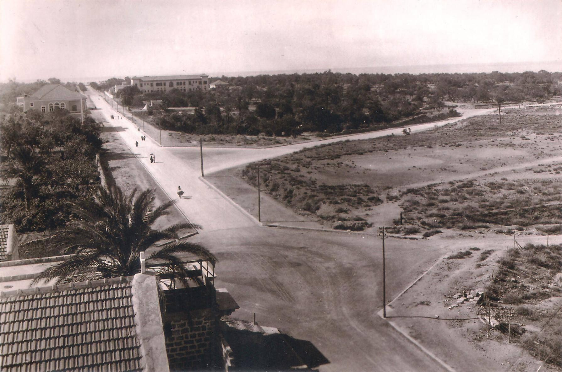 اللاذقية - شارع بغداد عام 1933م