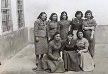 دير الزّور 1959- مجموعة من المعلمّات في مدرسة غرناطة