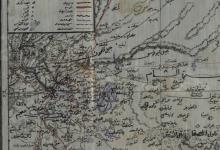 صورة خريطة قضاء دوما 1911
