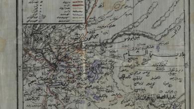 خريطة قضاء دوما 1911