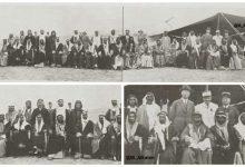 صورة مجموعة من شيوخ العشائر العربية والكردية من سنجقي الفرات و الجزيرة 1935