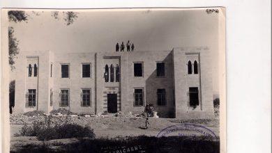 صورة أعمال بناء دار الحكومة في دوما