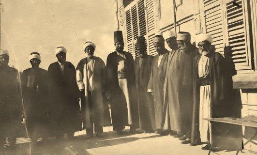 صورة لجنة دراويش حلب 1919