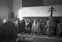 صورة الجنرال ديغول وسلطان باشا الأطرش في السويداء