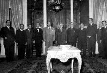 صورة حكومة صبري العسلي الأولى