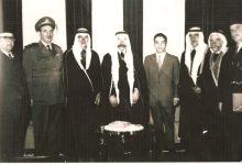 صورة سلطانباشاالأطرشوالملك حسين ملك الاردن