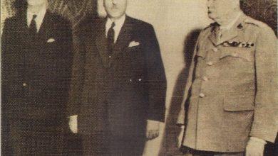 صورة رسالة الرئيس شكري القوتلي إلى رئيس الوزراء البريطاني تشرشل