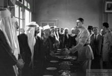 صورة الجنرال ديغول وسلطان باشا الأطرش في السويداء 1942