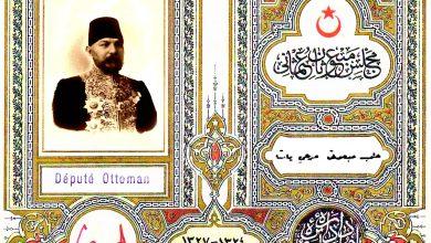 عمرو الملاَح : البطاقة النيابية العثمانية لمرعي باشا الملاح