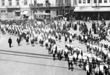 صورة عودةسلطان الاطرشالى دمشق عام 1937