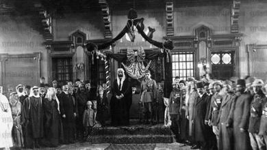 تتويج فيصل ملكاً وإعلان استقلال سورية 1920