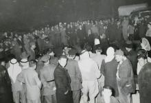 صورة جَكَو (حفل رقص شركسي) في شتاء 1953
