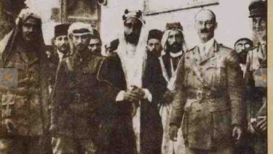 دخول القوات البريطانية - العربية دمشق في تشرين الأول 1918
