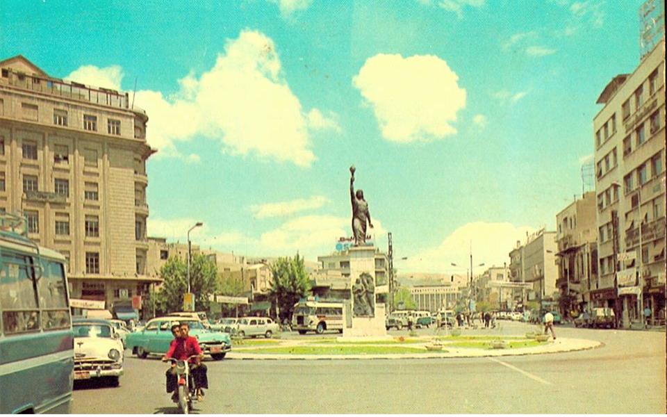 دمشق- بوابة الصالحية 1967