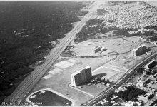 صورة دمشق – أتوستراد المزة والمدينة الجامعية 1968