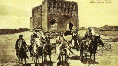 فرسان في الرقة أمام باب بغداد عام 1920