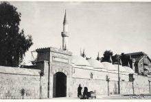 صورة دمشق – الباب الغربي للتكية السليمانية..بالثلاثينات..