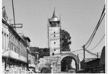 صورة دمشق- ترميم مئذنة باب شرقي..1985