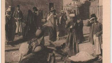 صورة دير الزور – الجامع العمري ومن خلفه جامع السرايا