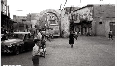 صورة دمشق – طالع الفضة قوس التترابيل…1975