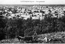 صورة اللاذقية – تلَّة الطابيَّات عام 1928م