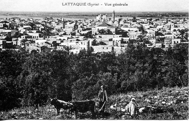 اللاذقية - تلَّة الطابيَّات عام 1928م