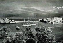 صورة بناء الرصيف الذي يصل الجامع بالفنار في اللاذقية عام 1925