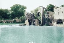 صورة نواعير حماة 1910