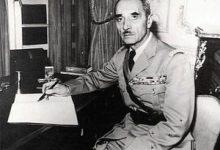 صورة الجنرال كاترو يعرض الرئاسة السورية على تاج الدين الحسني 1941